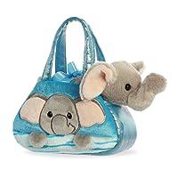 Aurora World Fancy Pals Peek-A-Boo Purse Pet Carrier Elephant