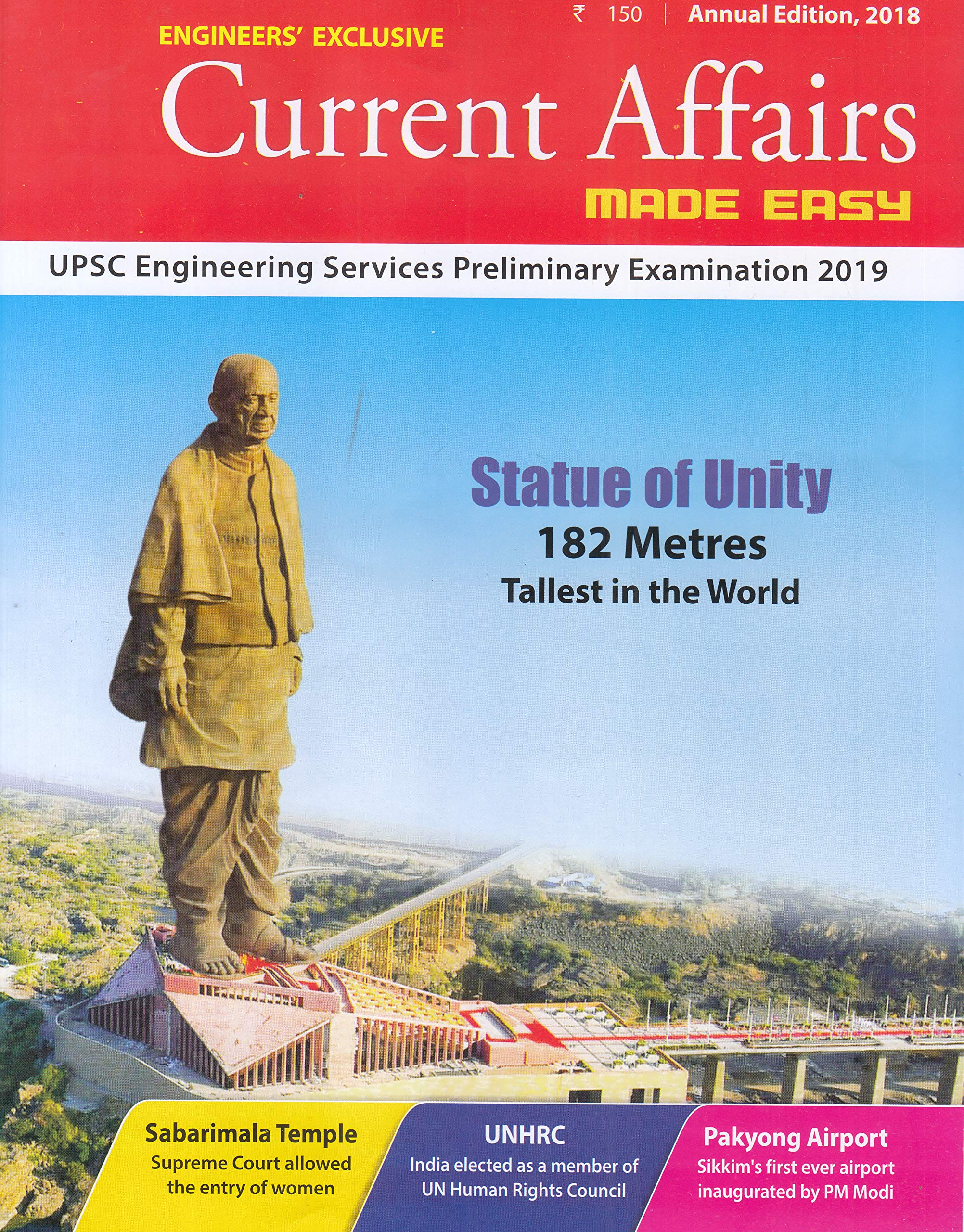 Buy Current Affairs MADE EASY- Annual Issue 2018 Book Online at Low