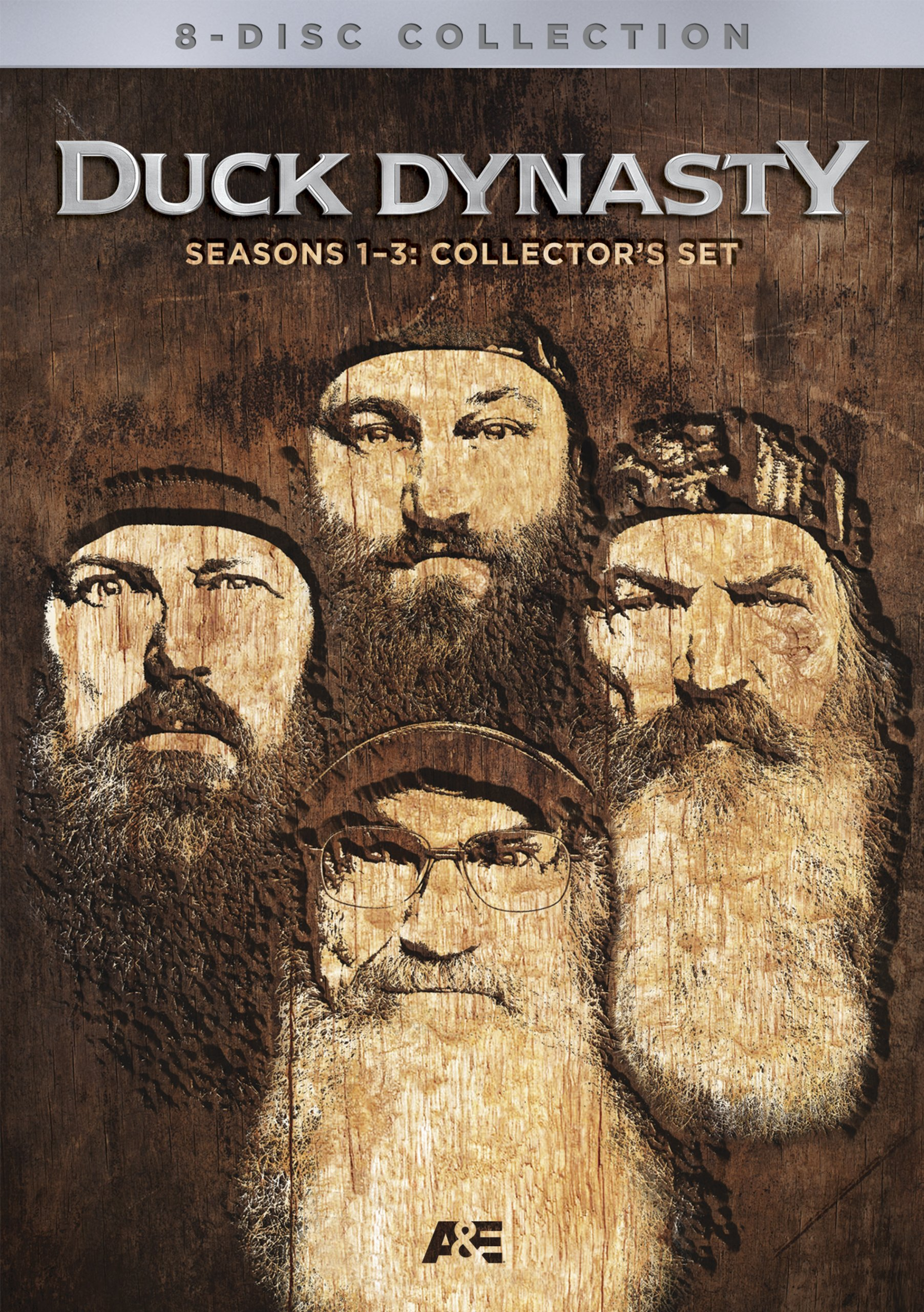 DVD : Duck Dynasty: Seasons 1-3 Collectors Set (Limited Edition, Boxed Set, Full Frame, Collector's Edition, Dolby)