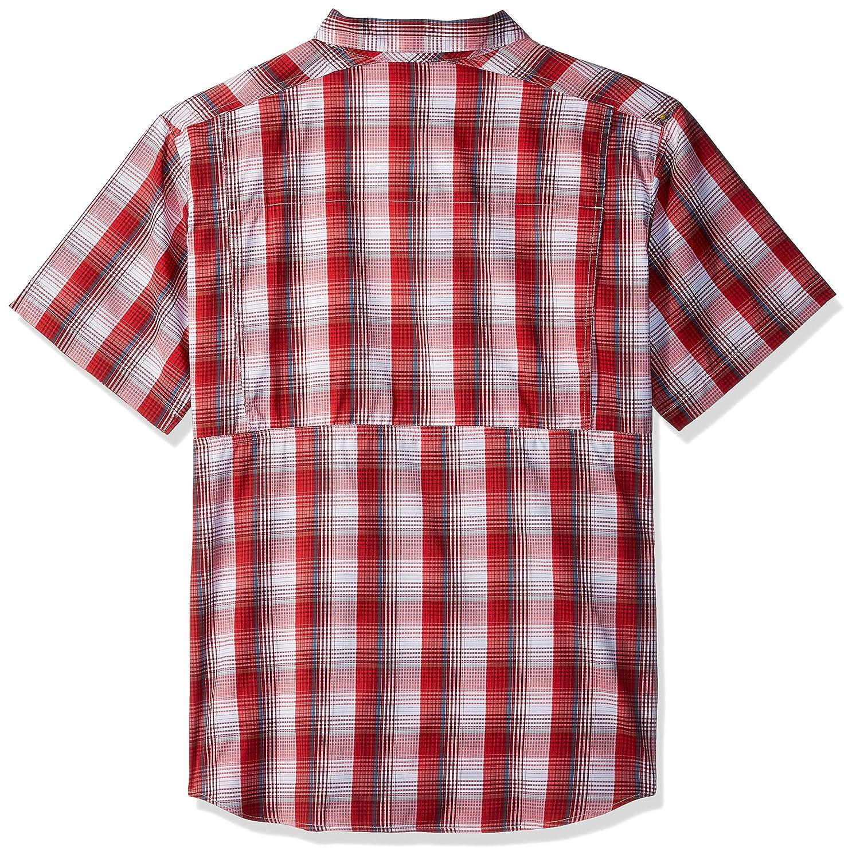 Columbia Mens Silver Ridge Lite Plaid Short Sleeve Shirt