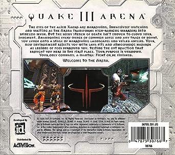 Amazon com: quake III arena: activision: Video Games