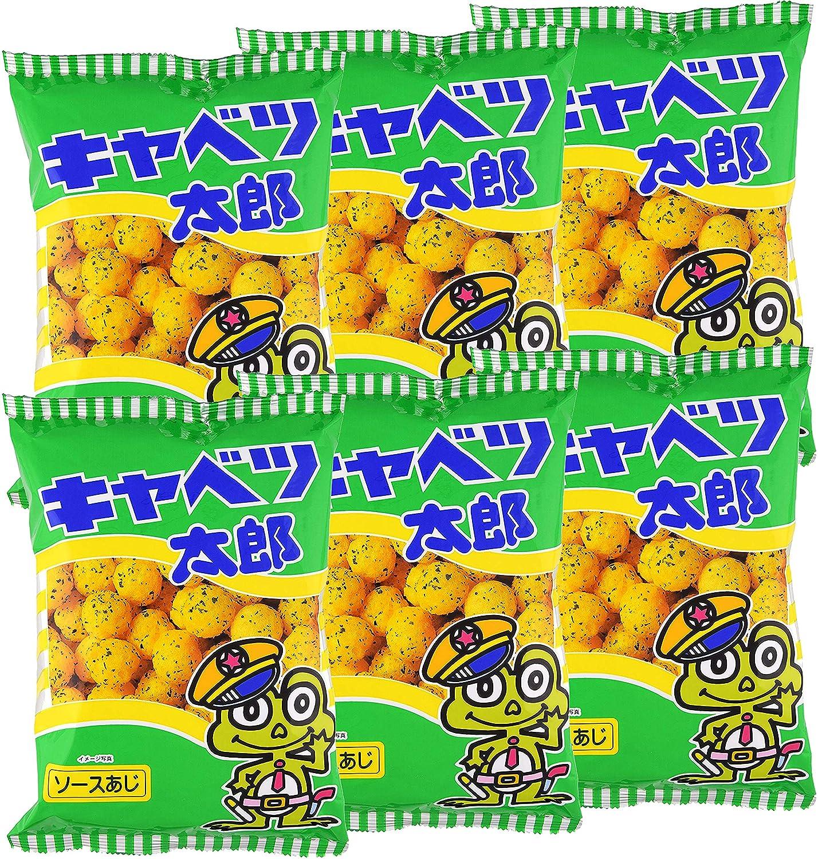 Yaokin Cabbage Taro Corn Puff Snack 3.17oz (6 Pack)