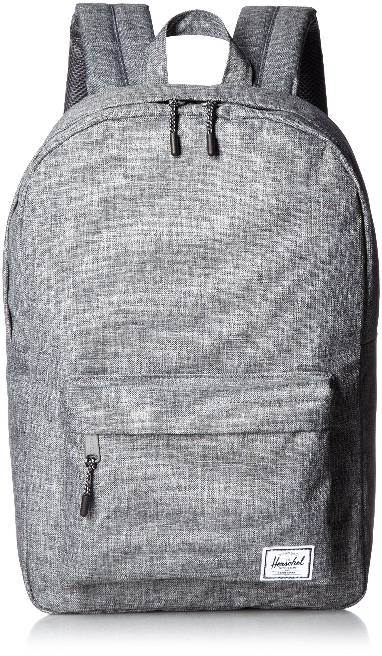 Herschel Supply Co. Classic Mid-Volume Backpack 1-Piece, Raven Crosshatch, One Size