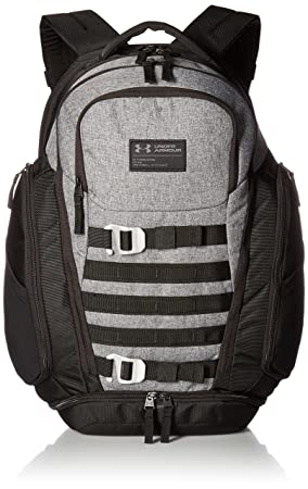 Under Armour Huey - Mochila, Unisex, 1294717, Graphite/Black, Talla única: Amazon.es: Deportes y aire libre