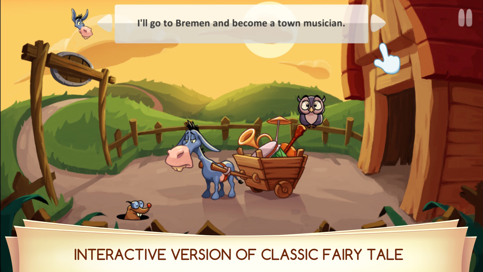 Town Musicians of Bremen - Interactive Story Pro