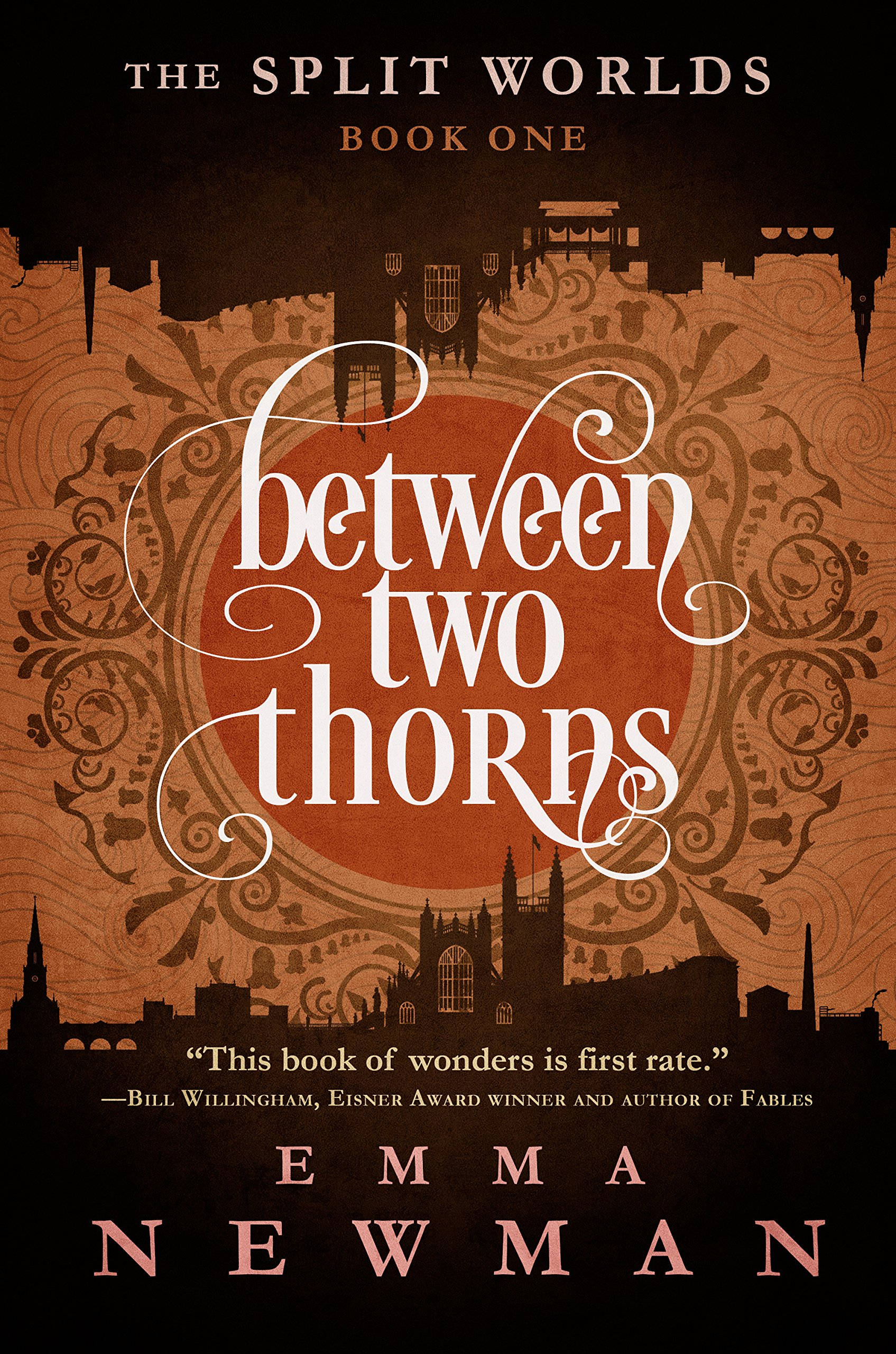 Between Two Thorns: The Split Worlds - Book One pdf epub