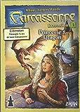 Asmodée CARC05 - Jeu de stratégie - Extension 3 - Princesse et Dragon pour Carcassonne