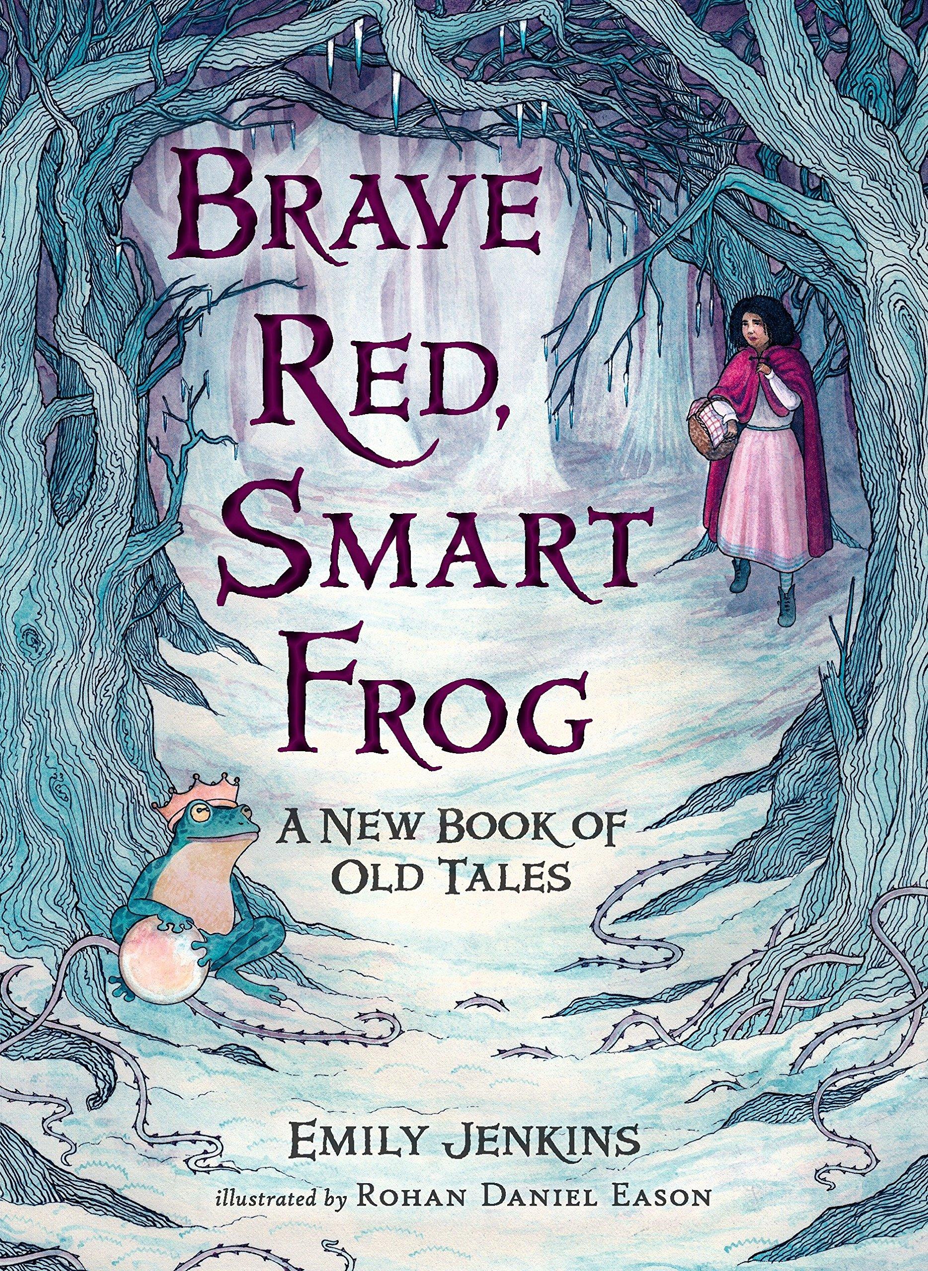 Brave Red Smart Frog bookcover