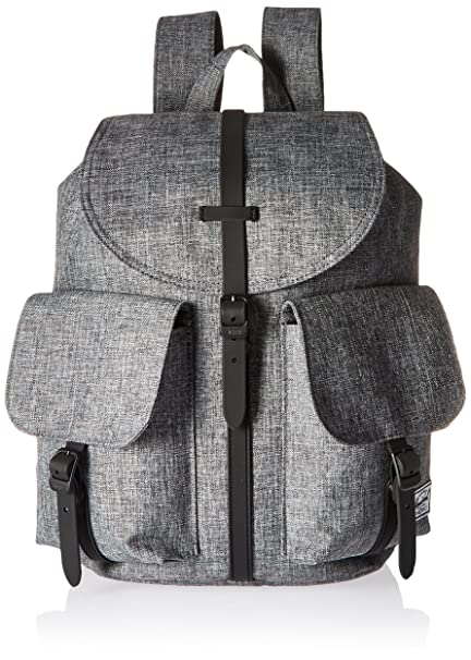db5dd97a2fb Herschel Supply Co. Pop Quiz Lunch Box Dawson Womens Backpack, Raven  Crosshatch Black Rubber  Amazon.co.uk  Luggage