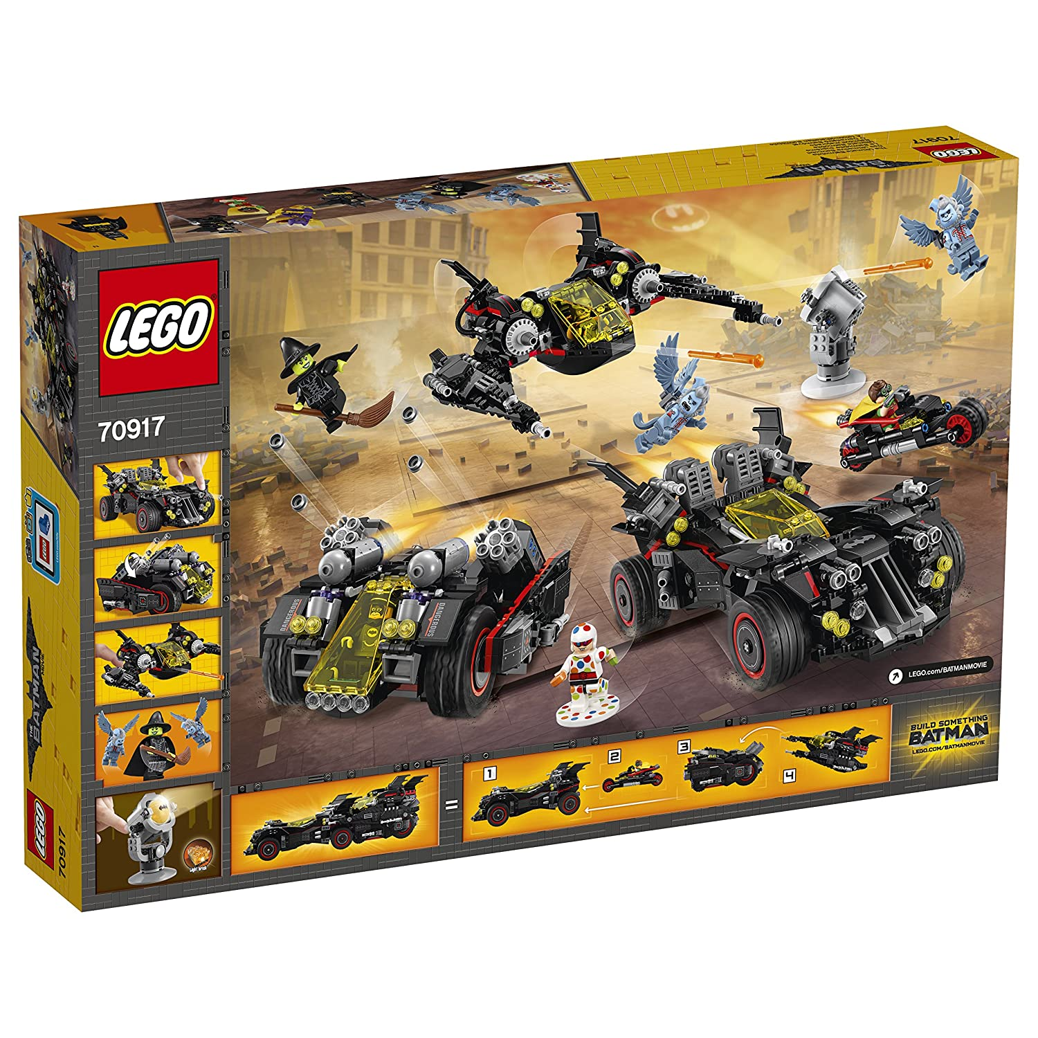 La Lego Suprême Construction Movie De Batman 70917 Jeu Batmobile BeWodrxC