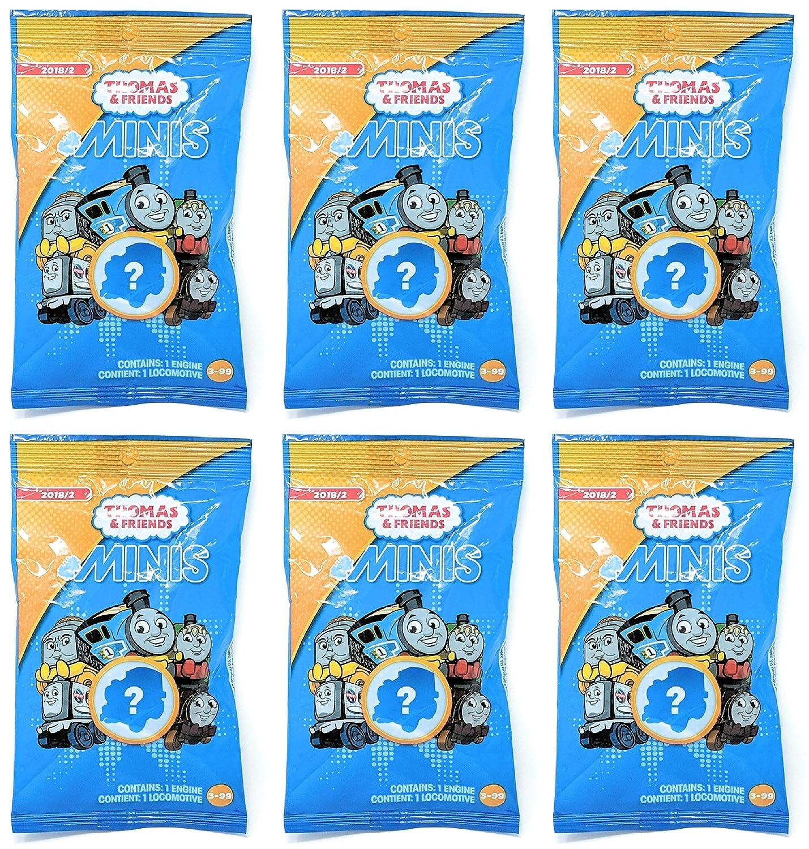 2018, Wave 2 Bundle of 6 Thomas /& Friends Minis Blind Bags
