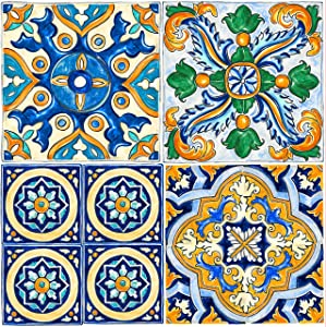 "Con-Tact Brand FloorAdorn Vinyl Floor Appliques Self-Adhesive, Decorative and Removable Tiles, 12""X12"", Mexican, 6"