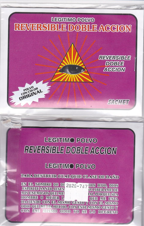 Amazon.com : LEGITIMO POLVO REVERSIBLE - REVERSIBLE DOBLE ACCION ...
