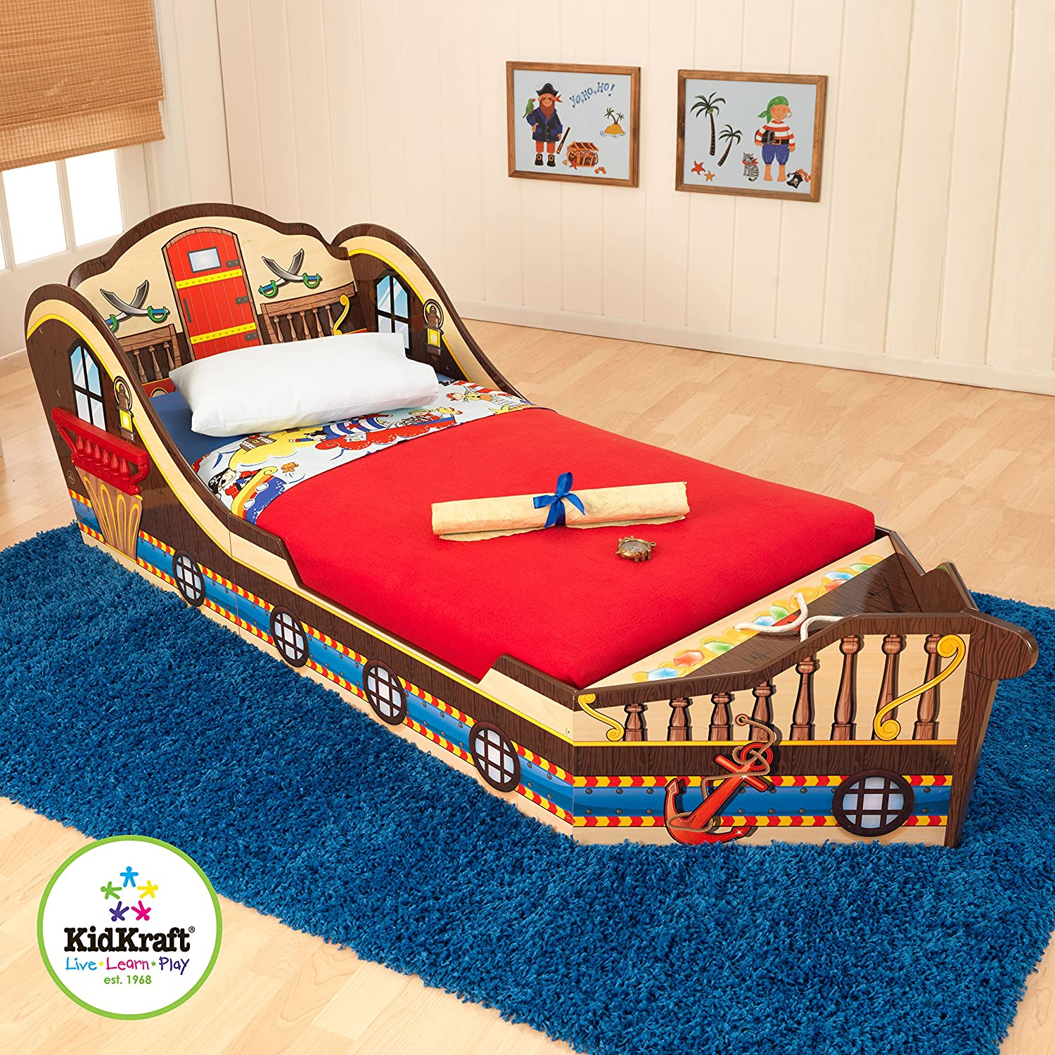 Amazon KidKraft Toddler Pirate Bed Toys Games