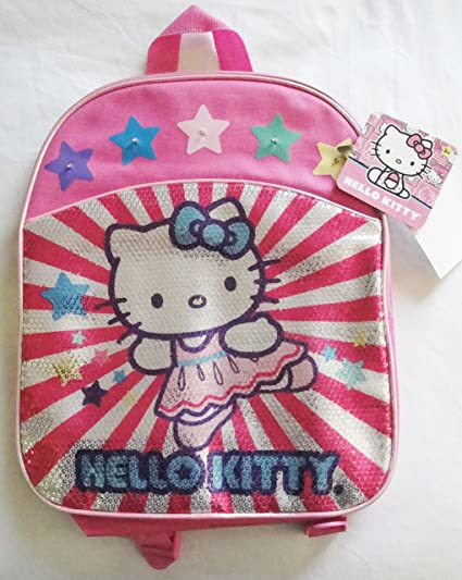af90bdcc2f Image Unavailable. Image not available for. Color  Hello Kitty Pink Mini  Backpack ...