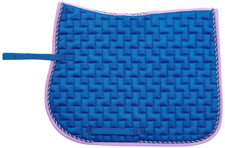 Mark Todd Schabracke mit Gürtelschlaufe - Sudadero de hípica, color azul (royal blau/lila), talla standard TOD860605