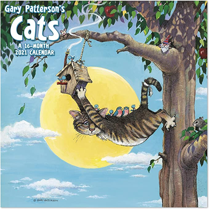 "2021 Calendar Cat Dreams 15 Month Calendar 12/"" x 12/"" C001"