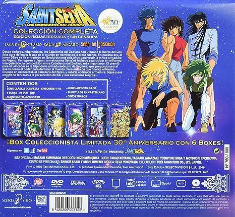 Saint Seiya Serie Completa - Edición Coleccionista 30º