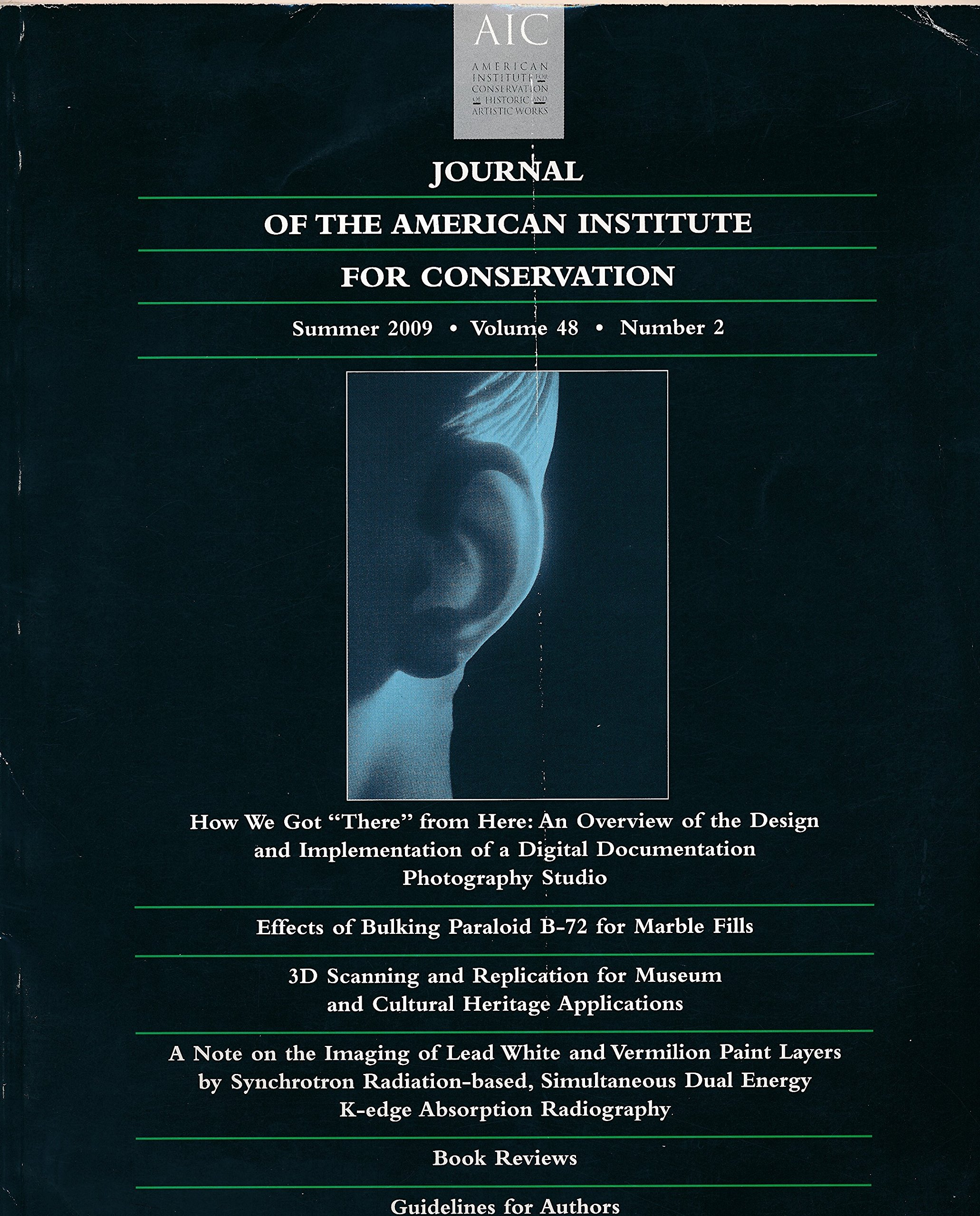 Journal Of The American Institute For Conservation