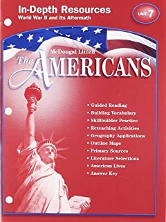The Americans In Depth Resources Unit 1 American Beginnings To 1783