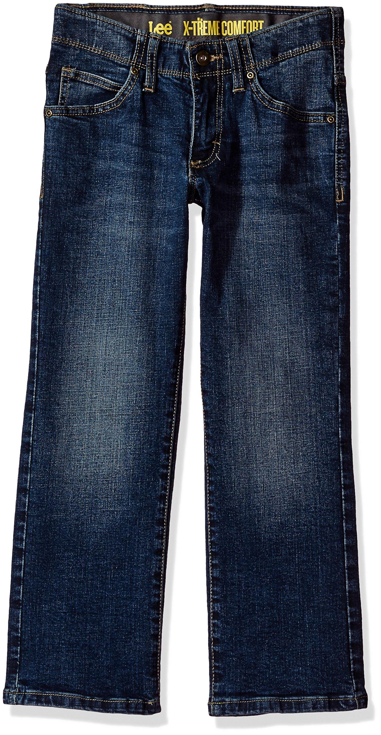 LEE Boys' Sport X-Treme Comfort Slim Jean, Kreed, 14 Husky