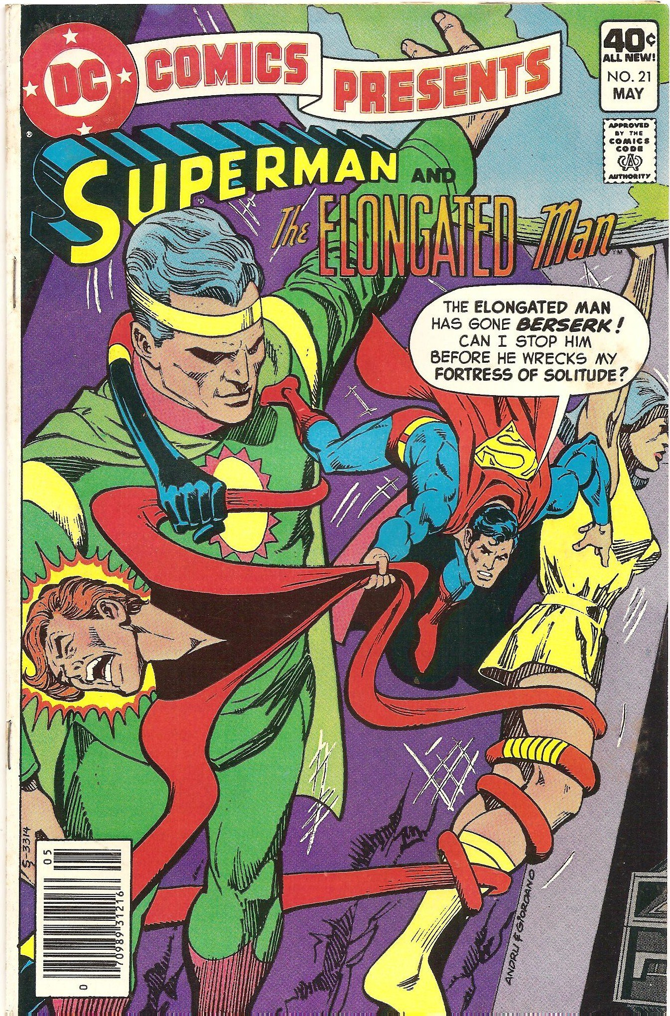 Dc Comics Presents 21 Superman The Elongated Man Volume 3