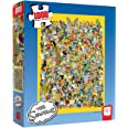 USAOPOLY The Simpsons Cast of Thousands 1000 Piece Jigsaw Puzzle | Officially Licensed Simpsons Merchandise | Collectible Puz