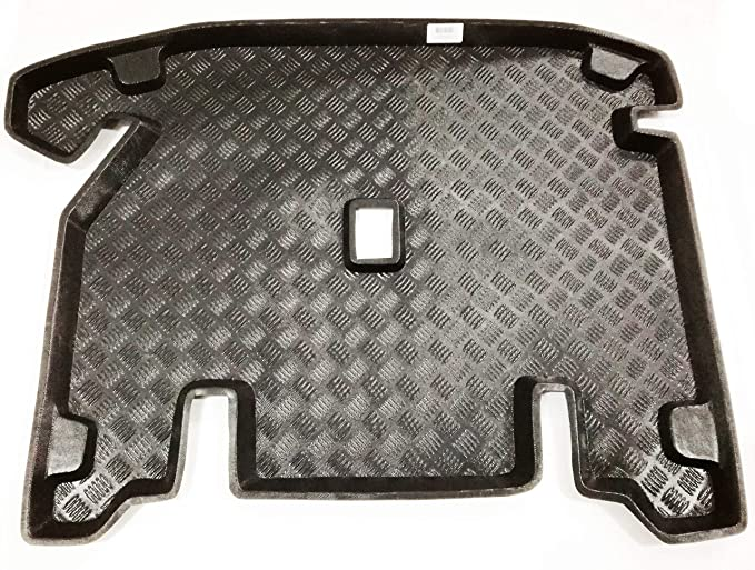 Amazon.es: PVC Cubeta Maletero Dacia Lodgy 7 plazas (2012 - actualidad) - Rey Alfombrillas®
