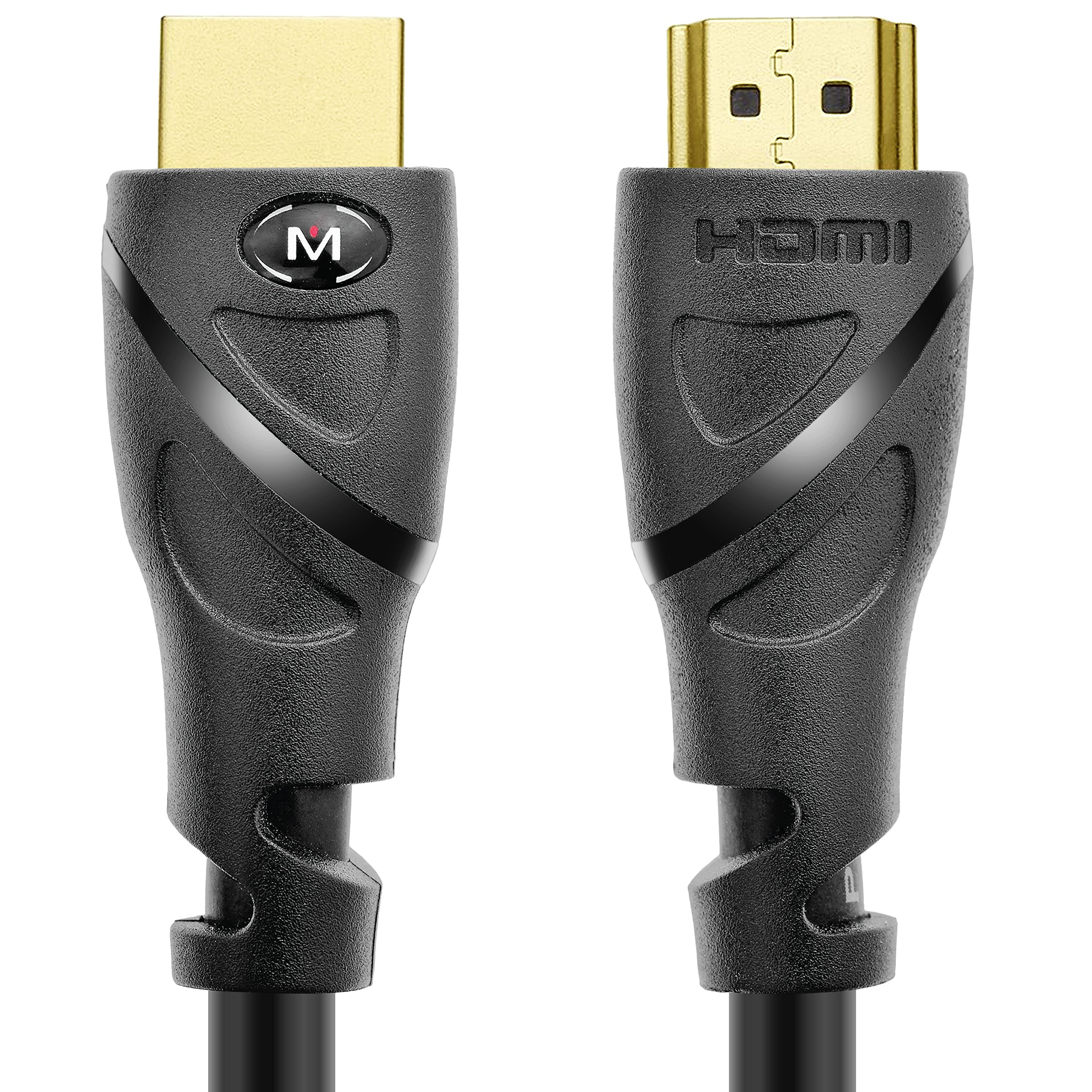 Mediabridge HDMI Cable (15 Feet) Supports 4K@60Hz, High Speed, Hand-Tested, HDMI 2.0 Ready - UHD, 18Gbps, Audio Return Channel by Mediabridge