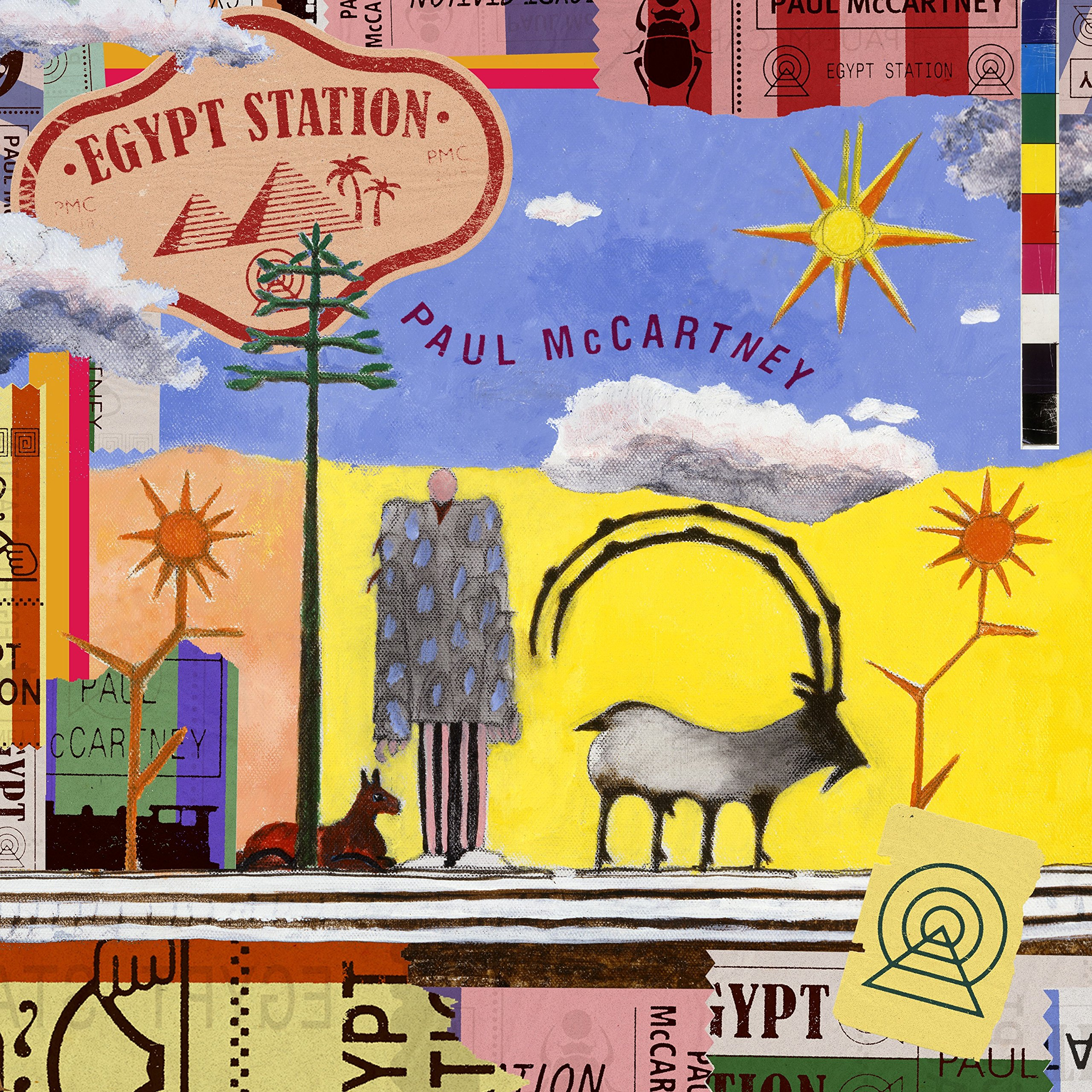 Vinilo : Paul McCartney - Egypt Station (Gatefold LP Jacket, Limited Edition, Deluxe Edition, 2PC)