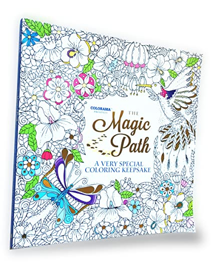 Amazon Com Colorama The Magic Path Coloring Book Special Coloring
