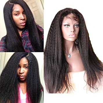 Dreambeauty Black Human Wigs Kinky Straight