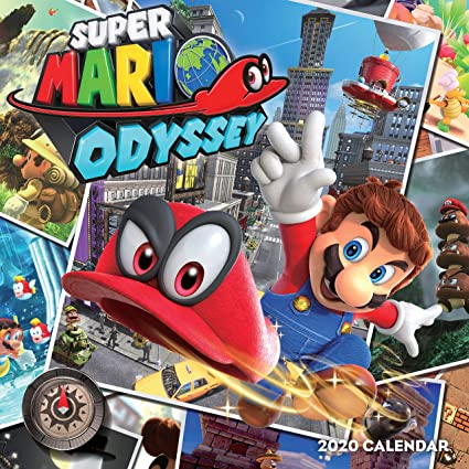 Pokemon: Super Mario Odyssey 2020 Wall Calendar: Pokemon: Amazon ...