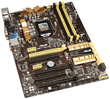 ASUS Z87 - Plus - Placa Base (DDR3-SDRAM, DIMM, Dual, Intel ...