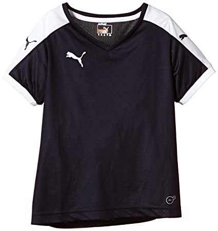 Puma T-Shirt Pitch Short Sleeve, Camiseta de Fútbol para Niños, Azul (