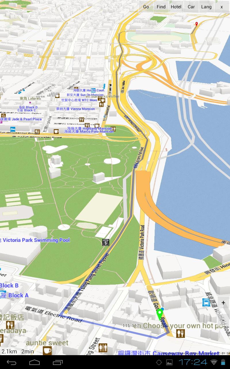 Hong Kong Google Map - Driving Directions and Maps