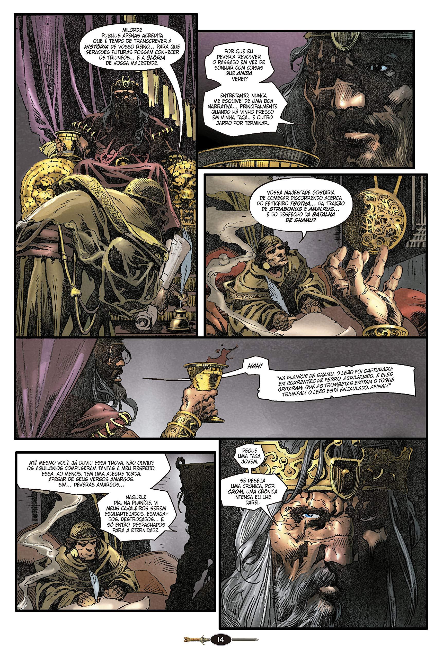 Rei Conan. A Cidade Escarlate (Em Portuguese do Brasil): Robert E. Howard: 9788578671648: Amazon.com: Books