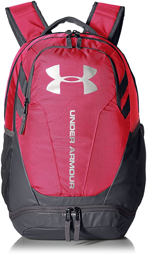 (One Size, White/Graphite) - Under Armour Hustle 3.0, Backpack Unisex: Amazon.es: Deportes y aire libre