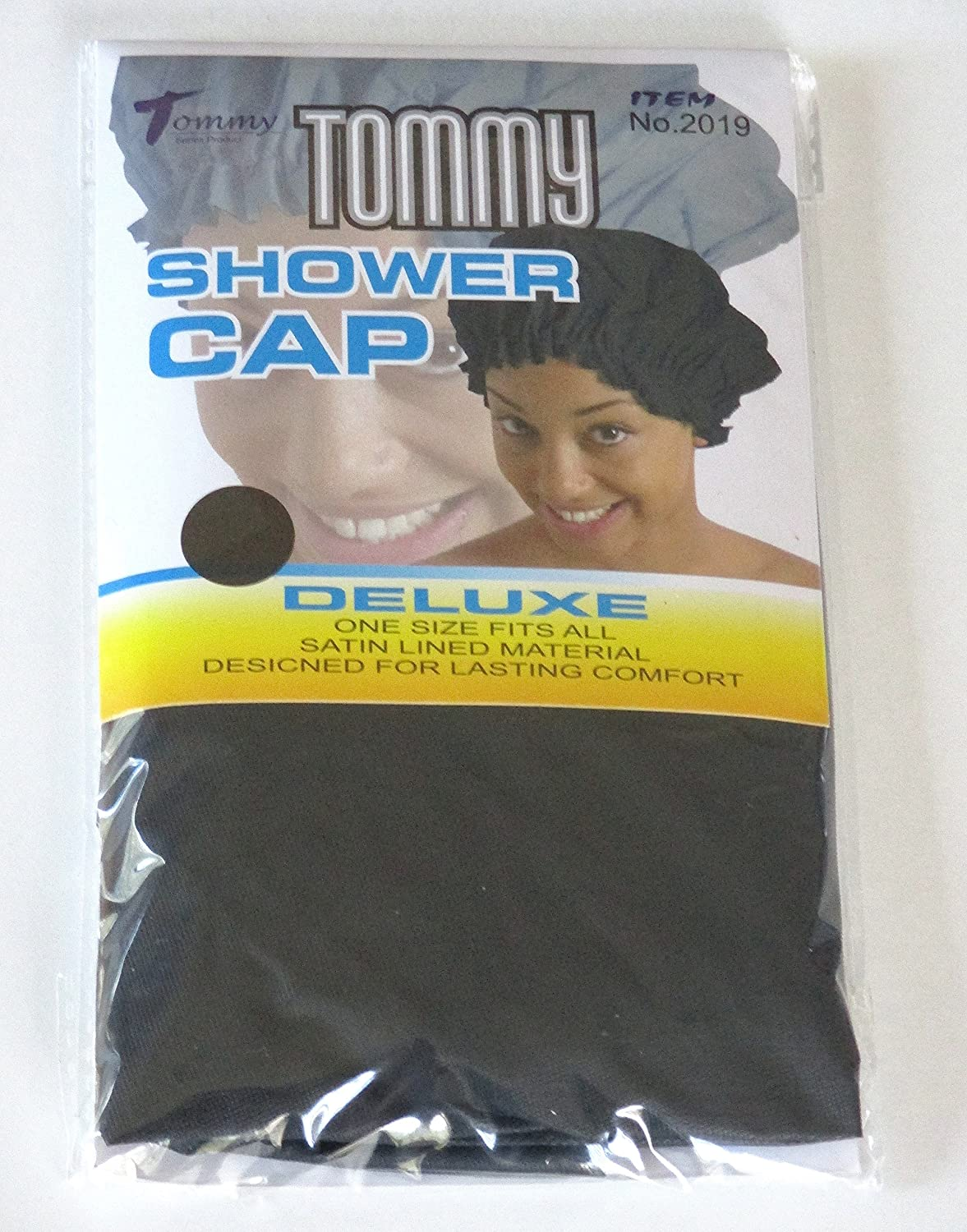 Tommy Deluxe Shower Cap nero afro Black people Hair # 2019 EVERYTHING ELSE