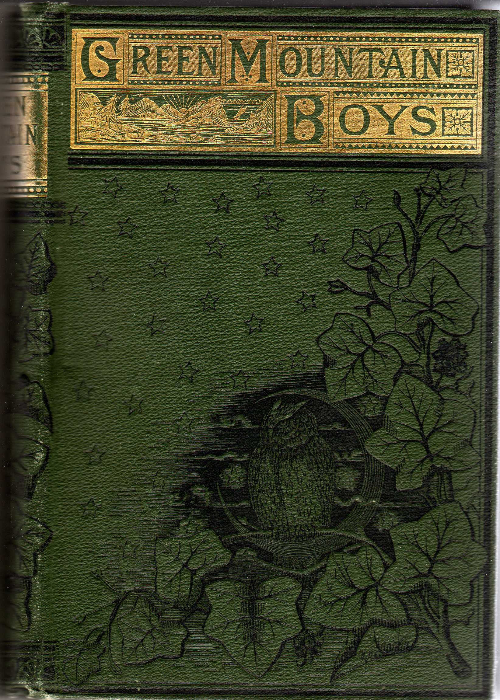 The Green Mountain Boys, a Historical Tale of the Early Settlement of Vermont, 2 Volumes in One