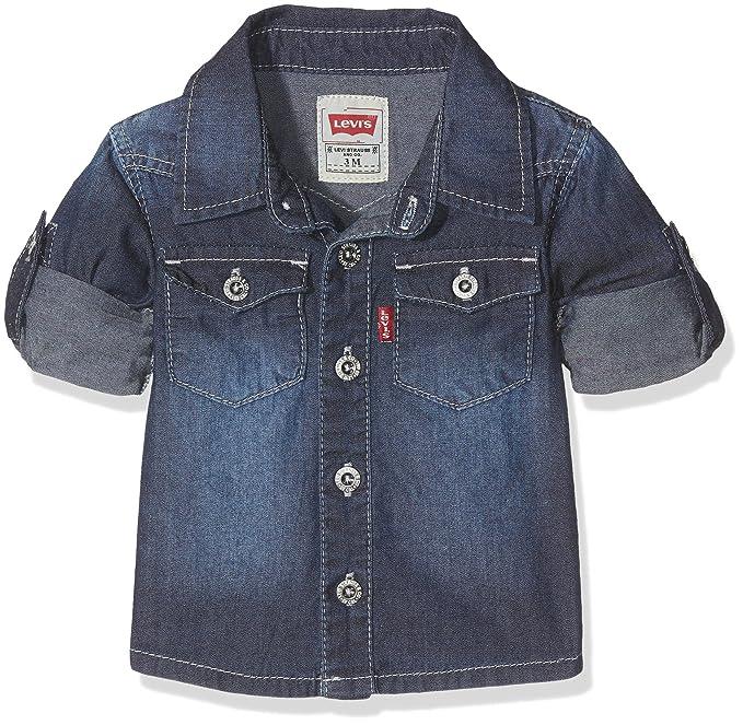 Levi S Kids Ls Shirt Nos Chemise Bebe Garcon Amazon Fr Vetements