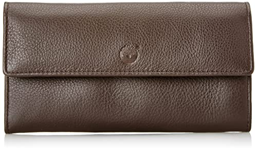 32907cdf23 Timberland Tb0m5717, Portafoglio Donna, Marrone (Chocolate Brown), 1x10x18  cm (W