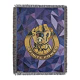 "Marvel Avengers: Endgame, ""Infinite Power"" Metallic Woven Tapestry Throw Blanket, 48"" x 60"", Multi Color"