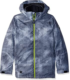 6e1ead3e8 Amazon.com  Quiksilver Boys  Big Mission Block Youth 10k Snow Jacket ...