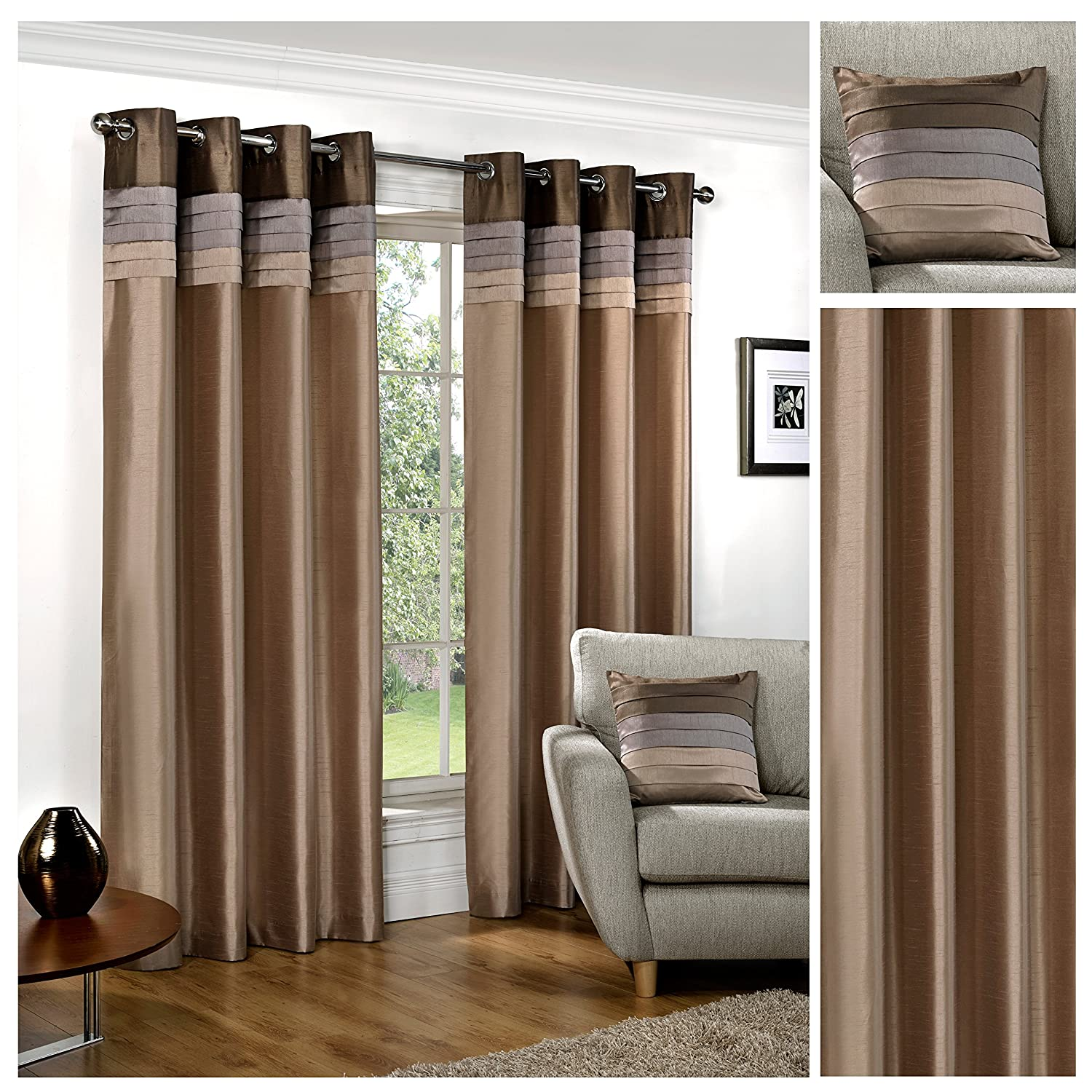 curtain backs made top ready burgundy ring blackout thermal curtains tie with matching product wine