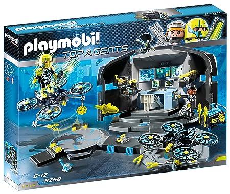 PLAYMOBIL Agentes Secretos-9250 Centro de Mando del Dr.Drone ...
