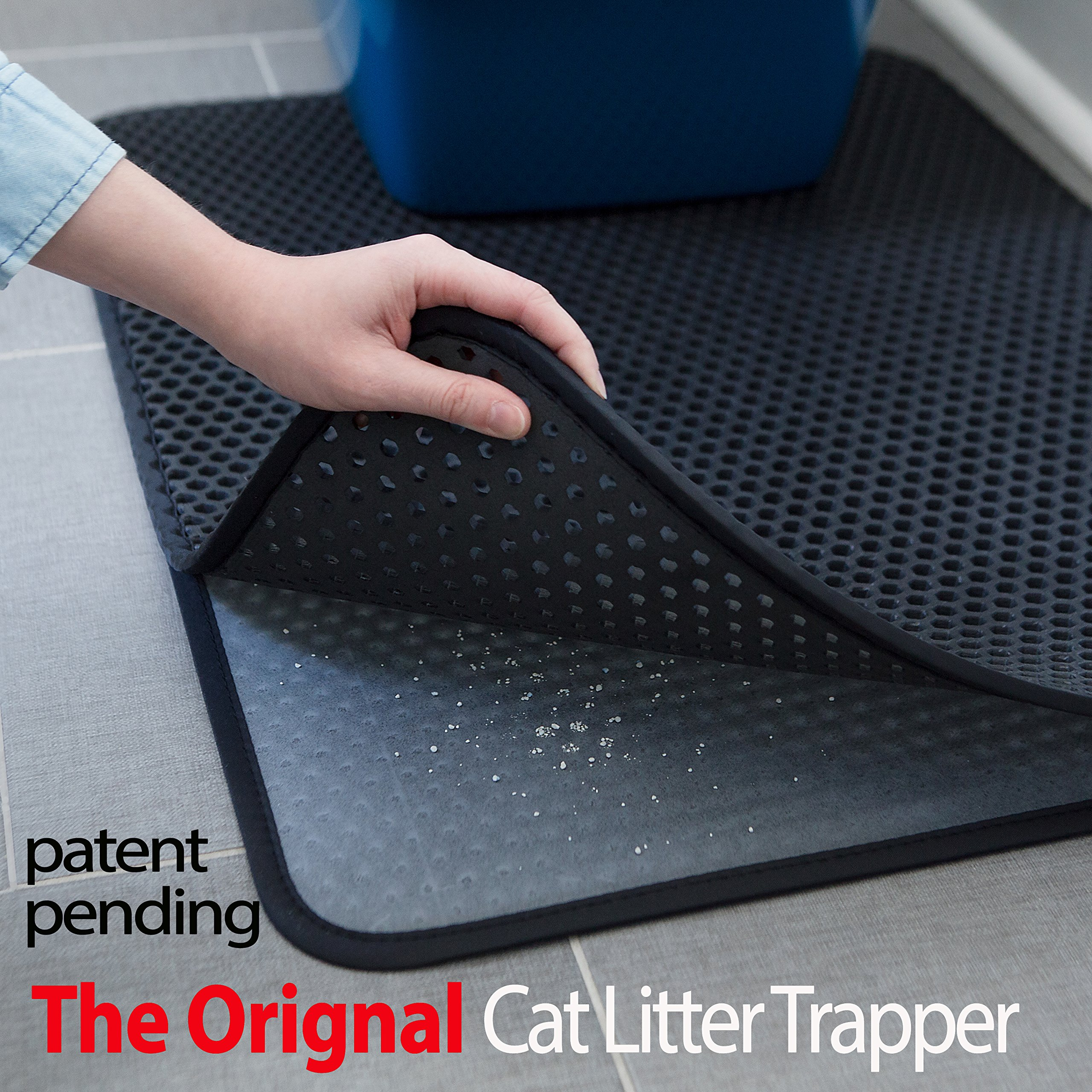 Cats Rule 00647 Perfect Litter Mat Caribbean Stripe