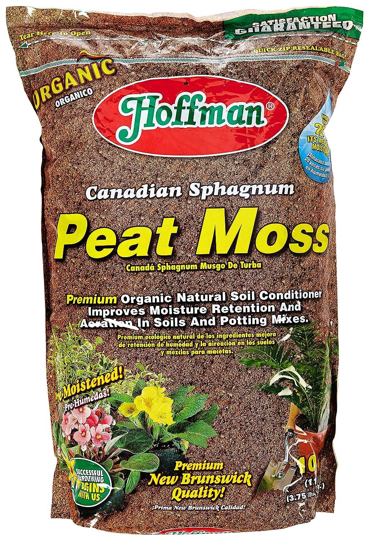 Amazon.com : Hoffman 15503 Canadian Sphagnum Peat Moss, 10 Quarts ...