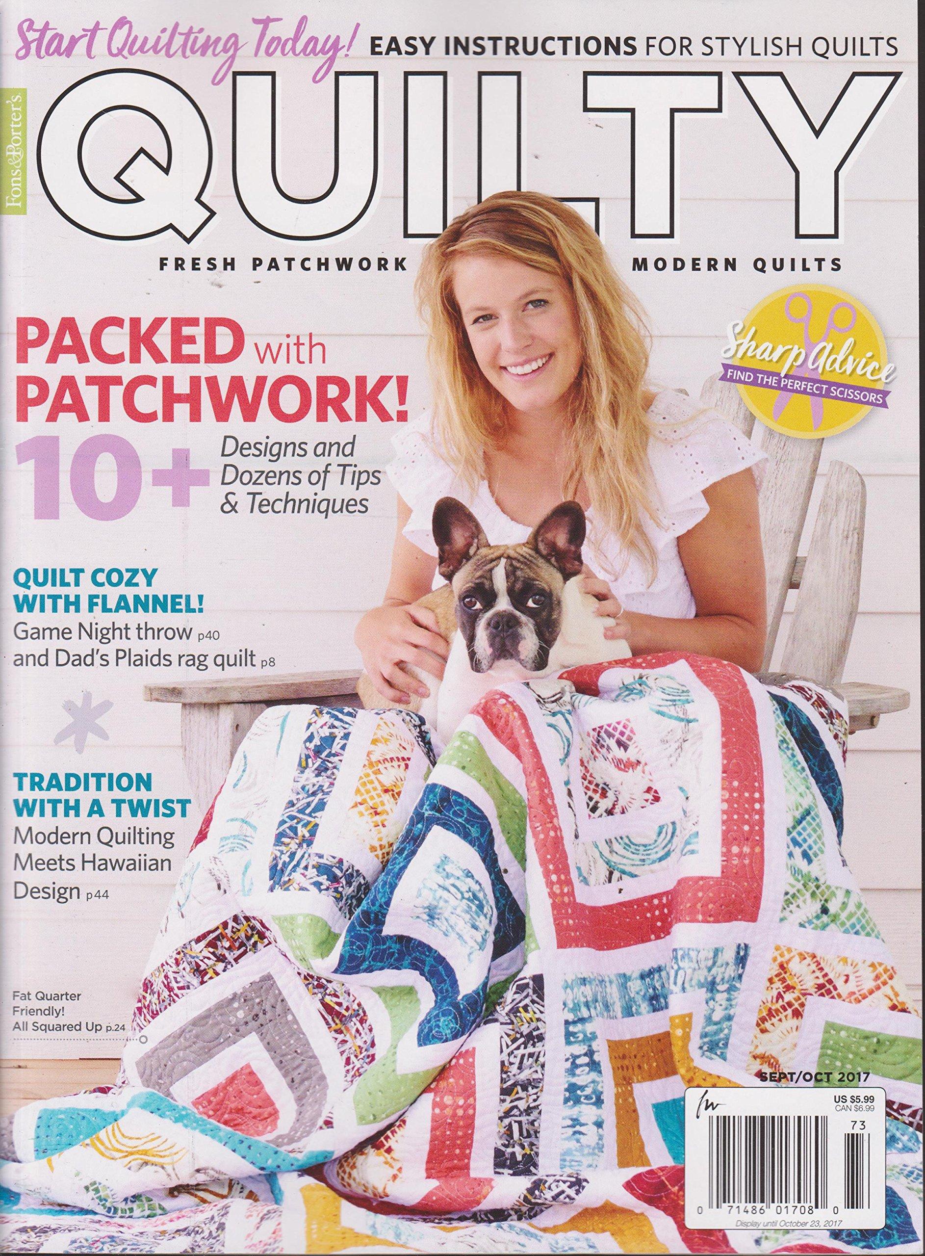 Read Online Fons & Porter's Quilty Magazine September/October 2017 ebook