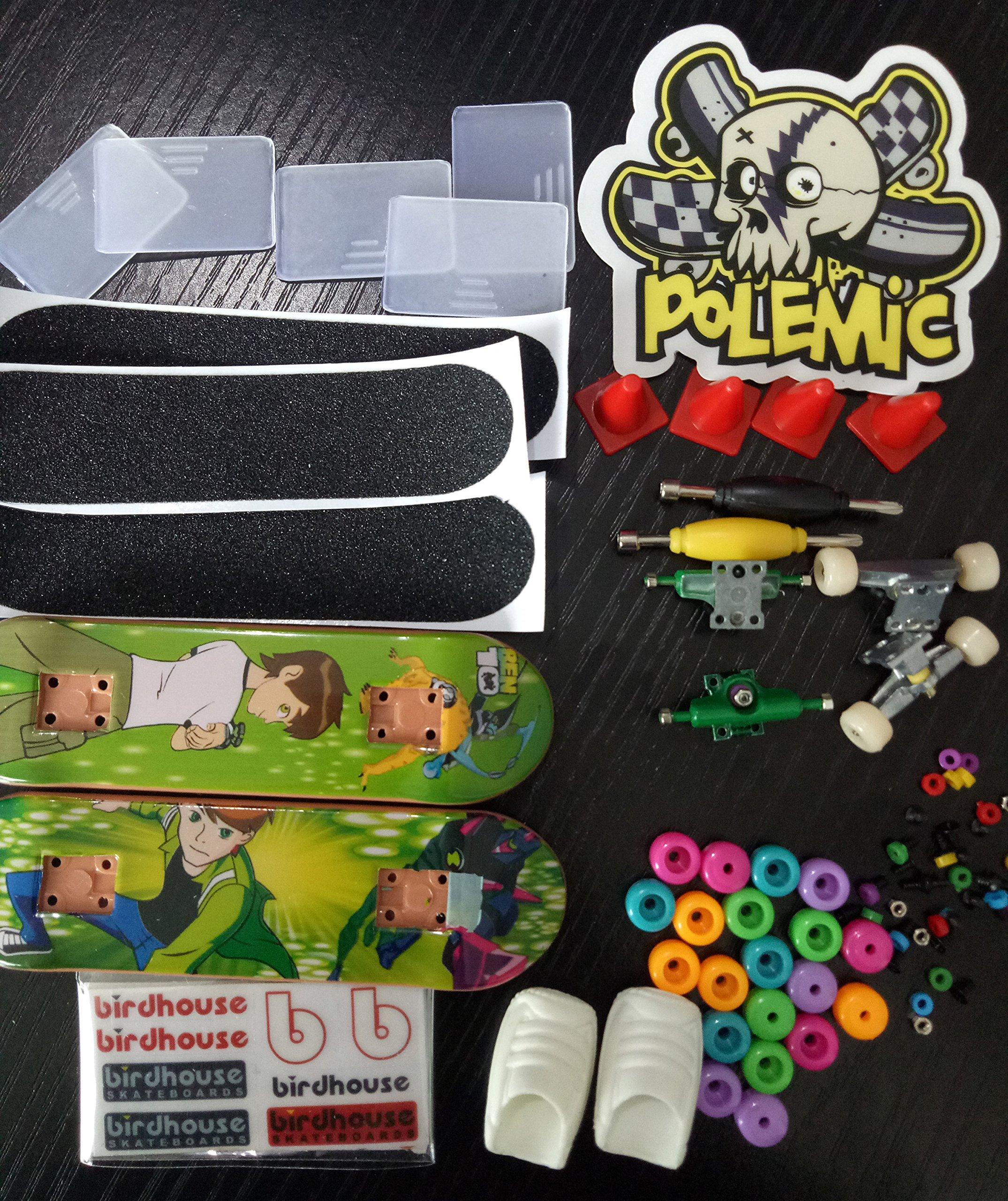 Fanci ABS Finger Skateboard Set Double Rocker DIY Mini Finger Boarding Toy with Storage Box by Fanci (Image #7)